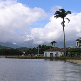 Paraty water view