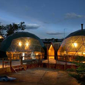 Ecocamp standard dome